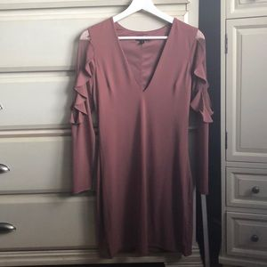 Express Long Sleeve Mini Dress